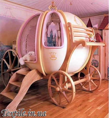 Волшебная карета или сказочная кровать