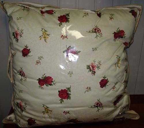 подушка с цветами textile.in.ua
