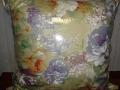 подушка с большими цветами textile.in.ua