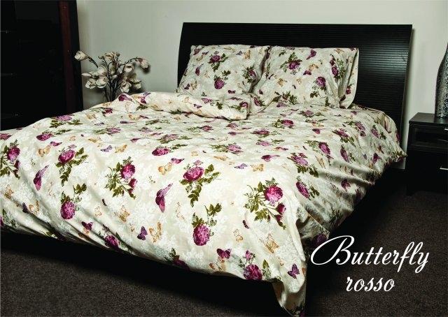 постельное белье Butterfly rosso