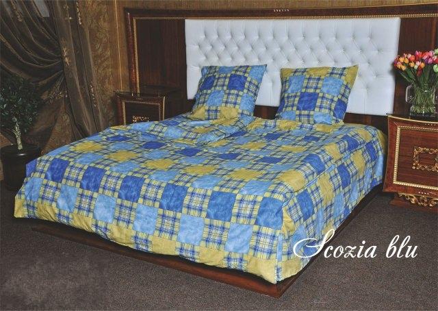 постельное белье Scozia blu