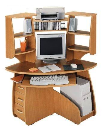 Как вписать компьютерный стол в интерьер комнаты