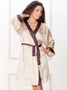 Шелковые халаты в интернет магазине Эллина