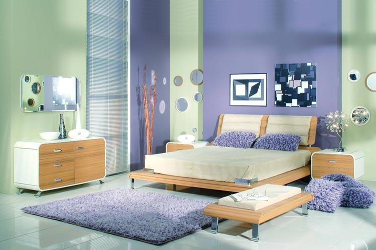 Как визуально изменится спальня при выборе правильных обоев