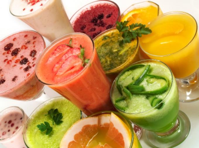 Как приготовить фруктовый коктейль в блендере