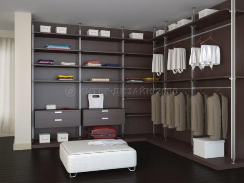 В чем преимущества гардеробных комнат и как их обустроить