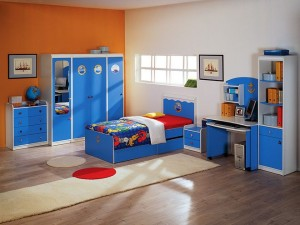 Дизайн и интерьер детской комнаты