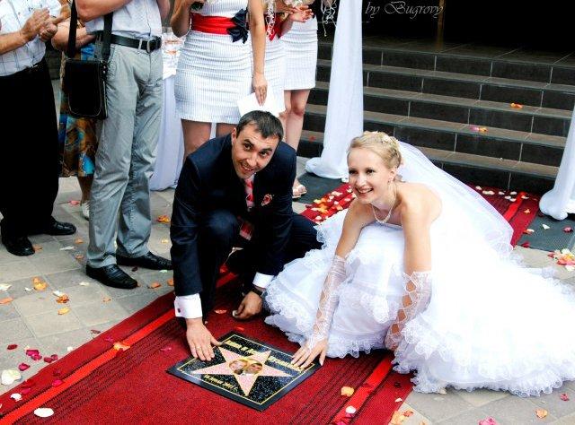 Свадьба в стиле церемонии Оскар