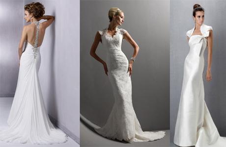 Свадебное платье для худенькой девушки