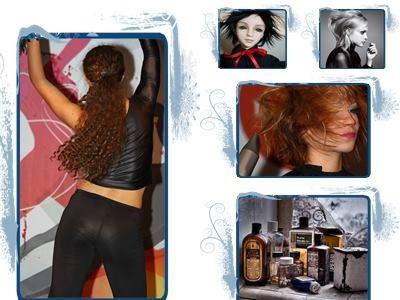 Сушим волосы и придаём им блеск