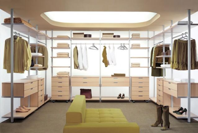 Выбор стиля для гардеробной