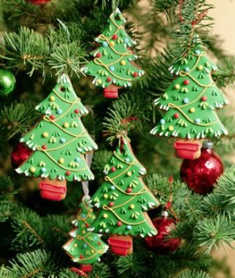 Делаем шоколадную новогоднюю елку