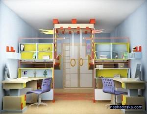 Обустраиваем детскую комнату. Уголок маленького ученого
