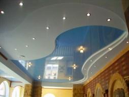 Используем в ремонте натяжной потолок