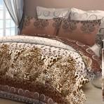 Постельное белье «Благородный леопард — притяжение»