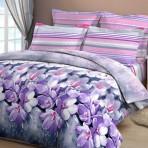 Постельное белье «Утренние росы» лиловые