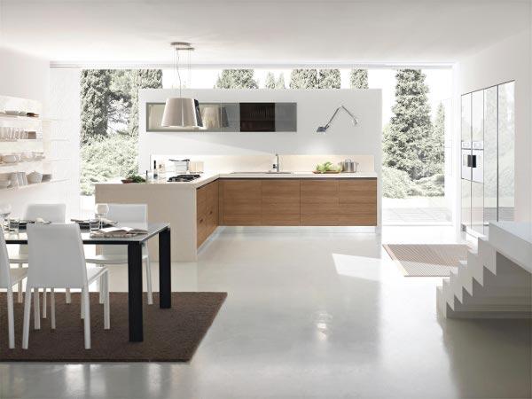 Интерьер и дизайн для маленькой кухни