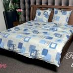 Постельное белье «Фламастер синий»