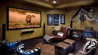 Дизайн квартиры для мужчины в стиле сафари