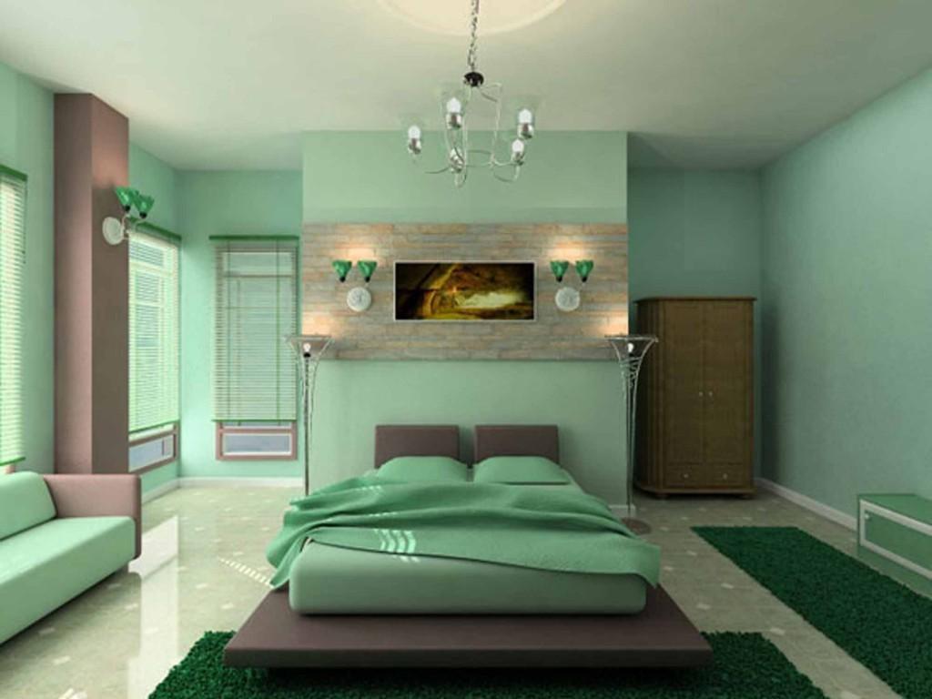 Оформление спальной комнаты фото