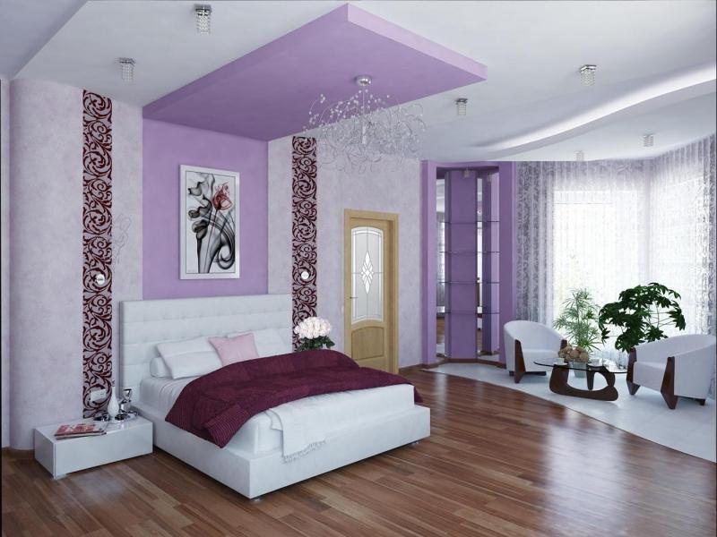 Современный и классический стиль спальни