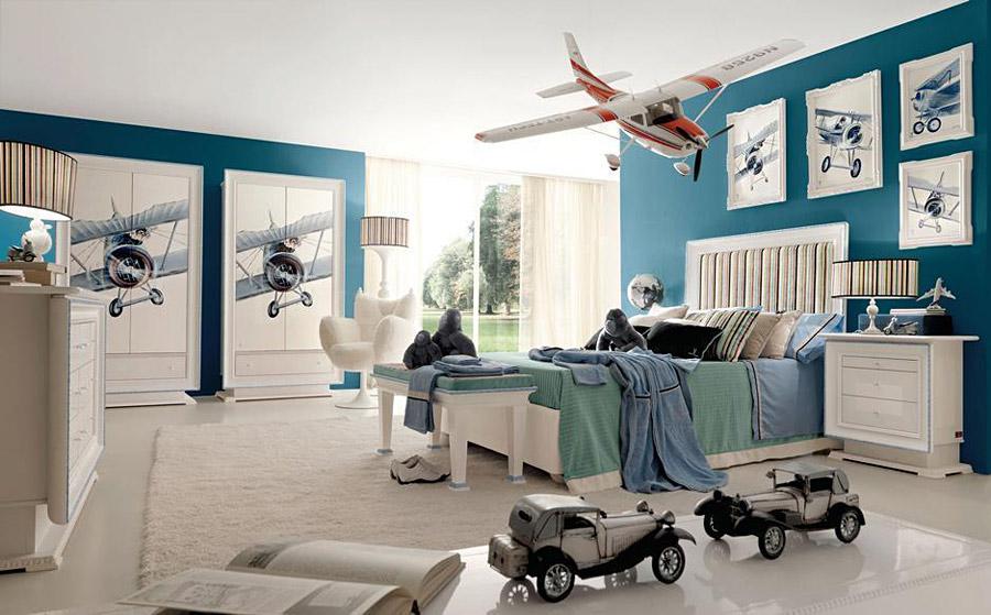 Как правильно сделать комнату для мальчика?