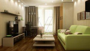 Как уютно обустроить небольшую гостиную?
