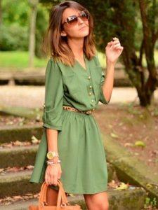 Платье-рубашка - это модно
