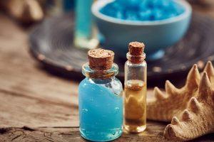 Косметика с продуктами моря