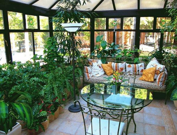 Создаем на даче красивый зимний сад
