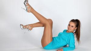 Визуально удлиняем ноги при помощи одежды