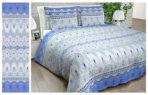постельное белье «КРУЖЕВО (голубое)»