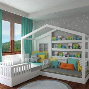 Как выбрать кровать для ребенка от трех лет?