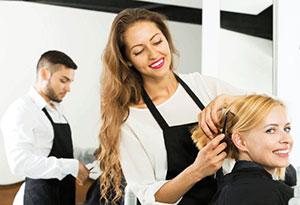 Фартук для парикмахера
